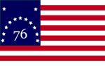 """Bennington """"76"""" Flag"""