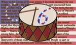 Spirit of 76 Flag, Drum, and Declartion Design