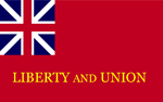 "Tauton ""Liberty and Union"" Flag"