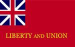 """Tauton """"Liberty and Union"""" Flag"""