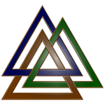 Earth-Toned Open Valknut
