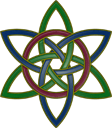 Two intertwined Trinity Knots