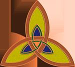 Flaming Trinity Knot/ Campfire